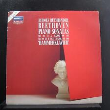 Beethoven / Buchbinder - Piano Sonatas No 28 In A No 29 In Bb LP VG+ 411 960-1