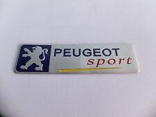 PEUGEOT SPORT BADGE EMBLEM - 208 V3Y 107 206 207 GTI WRC TURBO 205 306 307 CC