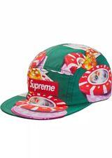 Supreme Casino Camp Hat Cap Green FW18 NWT