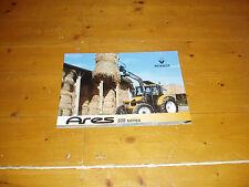 RENAULT ARES 500 Tracteur brochure 16 page book 02/2002