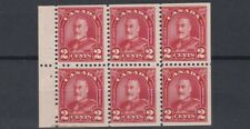 CANADA  1930 - 31   S G 292A   BOOKLET PANE OF 6   MNH