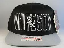 Chicago White Sox MLB Snapback Hat Cap American Needle Black Gray
