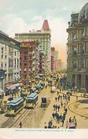 NEW YORK CITY – Broadway North from Fulton Street