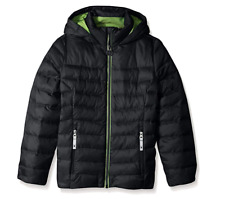 New Nwt Spyder Girls Timeless Down Hoodie Down Jacket Size Large New $119 Black