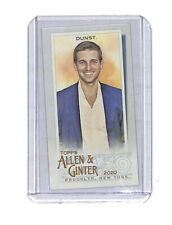 2020 Topps Allen & Ginter Tony Dunst 20/25 Brooklyn back mini card