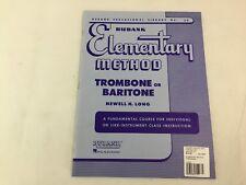 Rubank - Elementary Method - Trombone or Baritone  - #39 -