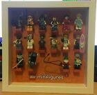 Lego Minifigures Series 4 - Complete Set Of 16 Framed - 8804