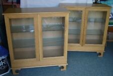 Handmade Oak Display Cabinets