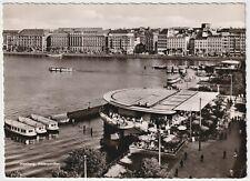 Alsterpavillon, Hamburg - Vintage Real Photo Postcard