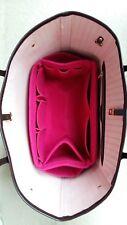 💖New Deep Pink felt bag organizer fits Louis Vuitton Neverfull MM💖