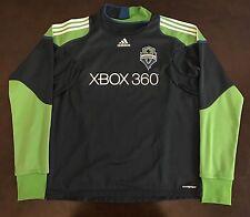 Adidas MLS Seattle Sounders FC Sweatshirt Futbol Soccer Jersey