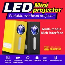 1080P Mini Portable Projector Led Micro Usb Hdmi Audio Video Home Theater Cinema