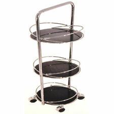Chrome Round Contemporary Flat Pack Coffee Tables