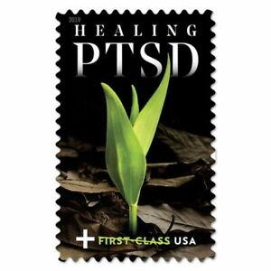 HEALING PTSD US# B7 POST TRAUMATIC STRESS SEMI-POSTAL MNHVF SINGLE FOREVER STAMP