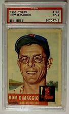 1953 Topps #149 Dom DiMaggio Boston Red Sox PSA 5 EX