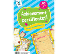 50 Achievement Award Motivational Certificates | Kids Rewards Stamps & Stickers