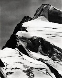 1928 Vintage ANSEL ADAMS Mount Resplendent Canada Rockies Snow Landscape 16x20