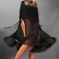 NEW Latin salsa tango rumba Cha cha Square Ballroom Dance Dress#FM021 Skirt