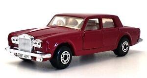 Matchbox 75 Small Scale 39 - Rolls Royce Silver Shadow II - Burgundy