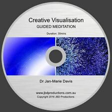 Guided Meditation CD for Creative Visualisation Jan-Marie Soothing Music & Voice
