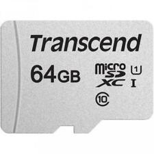 64GB MEMORY CARD TRANSCEND HIGH SPEED MICROSD CLASS 10 MICROSDXC for CELL PHONES