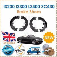 For Lexus GS430 00-08 GS300 93-10 IS200 IS300 LS400 RX300 SC430 Rear Brake Shoes