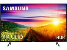 "SAMSUNG TV LED 49 ""43RU7105, 4K ULTRA HD HDR, Smart TV Bluetooth Black"