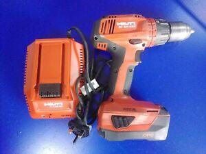 Hilti SF 6H-A22 Cordless drill + Charger C 4/36-90 + Battery B22  Li-Ion 3.0 Ah