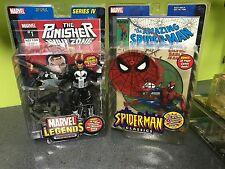 marvel legends lot punisher series 4 spider man classics toybiz