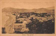 Zarauz Basque Country Spain panoramic view of area antique pc Y11143