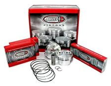CP Carrillo BC1021-030 Small Block Chevy 355 Forged Pistons Flat Top 4.030 Qty 8