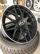 18 Zoll MAM GT1 Felgen 5x112 schwarz für Mercedes C-klasse W203 W205 W202 AMG