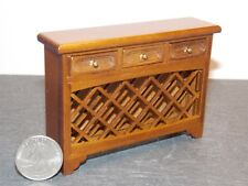 Dollhouse Miniature Console Table Wine Steward 1:12 scale F70 Dollys Gallery
