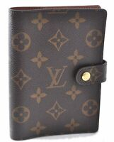 Authentic Louis Vuitton Monogram Agenda PM Day Planner Cover R20005 LV B7726