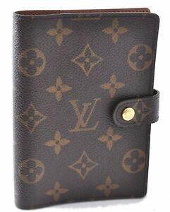 Authentic Louis Vuitton Monogram Agenda PM Day Planner Cover R20005 LV B7726