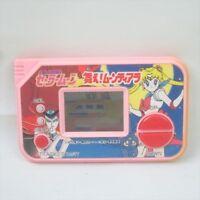 LCD JUNK Sailor Moon Mae Moontiara Game Watch Handheld Console Tested BANDAI1213