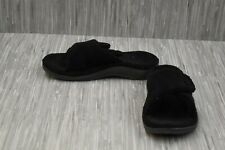 **VIONIC Relax Slippers, Women's Size 8, Black