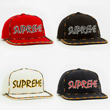 Supreme SS19 Beaded 6-Panel Cap hat tee box camp logo hooded