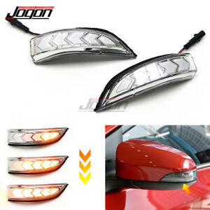 For Toyota Vios Camry Corolla Prius Avalon Side Mirror Dynamic Turn Signal Light