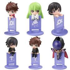 Code Geass Ochatomo Cup Decorations Set of 6 Anime Manga NEW