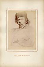 Ant. Meyer, Photog. Colmar, Michel Martin Drolling (1786-1851), peintre Vintage