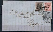 1878.-  BARCELONA / ZAFRA (BADAJOZ)