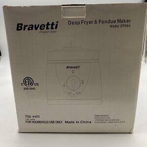 Bravetti Fondue Maker Deep Fryer Model EP064