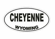 Cheyenne Wyoming Sticker Vinyl Decal 4-309
