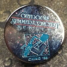 Outdoor Summer Concert Series Chino 88 pin badge