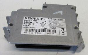 Renault Clio III Airbagsteuerteil Bosch 8200528766 0285001511
