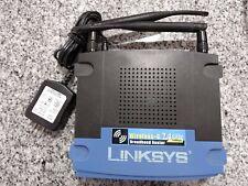 Linksys WRT54GL 1.1 54 Mbps Wireless-G WiFi Router