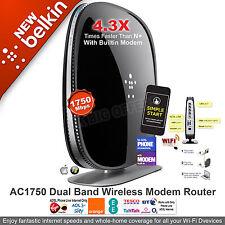 Belkin Wireless AC1750 Dual Band Modem Router ADSL BT Line for MAC/ PC F9J1108uk