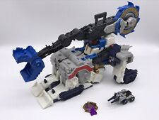 Transformers Cybertron Leader Class Metroplex with Drillbit Missing One Spike