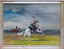 ENRIQUE CASTELLS CAPURRO (Uruguay, 1913-1997) RARE Original Oil Painting, c1966